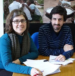 La Salete Coelho, investigadora do Centro de Estudos Africanos da Universidade do Porto (CEAUP) e Jorge Cardoso, membro da Fundação Gonçalo da Silveira