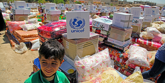© UNICEF/NYHQ2014-0819/Khuzaie