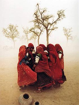 Tempestade de areia em Jaisalmer, Rajasthan, na Índia - © Steve McCurry