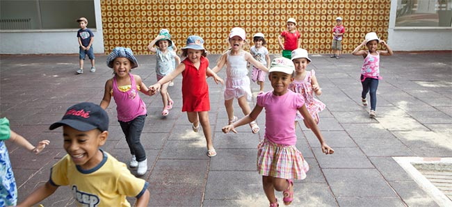 O Centro de Desenvolvimento da Primeira Infância nos Olivais Sul é já uma referência em Portugal © AKDN/Lucas Cuervo Moura