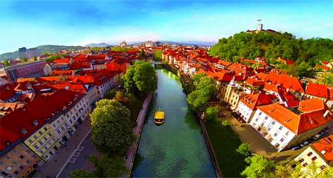 Ljubliana, Capital Verde da Europa 2016