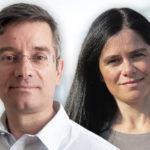 Vitor Verdelho e Susana Costa e Silva